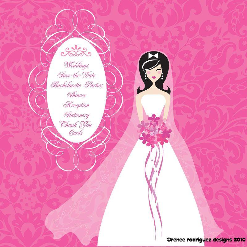 Hot Pink Bride