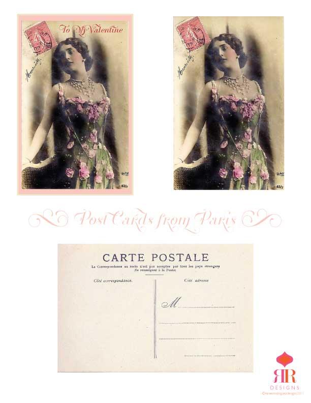 Parisian-Postcards