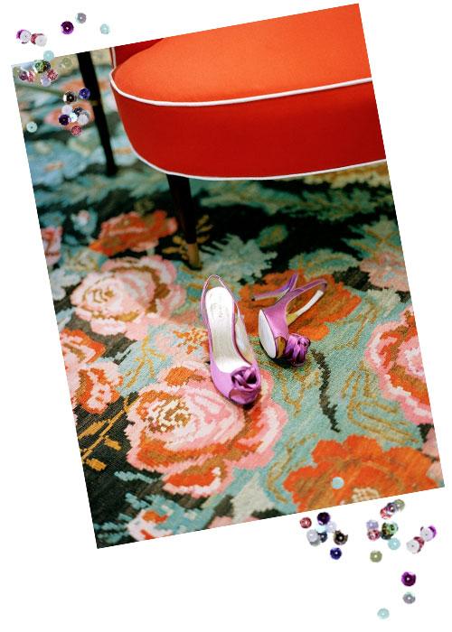 Orange-rug